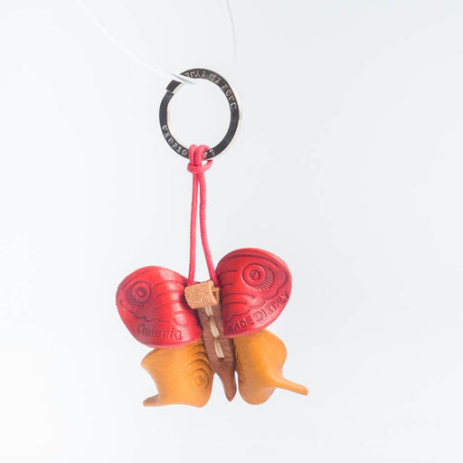 Cappelletto 1948 - Keyring - Butterfly Accessories Women CappellettoShop red and yellow