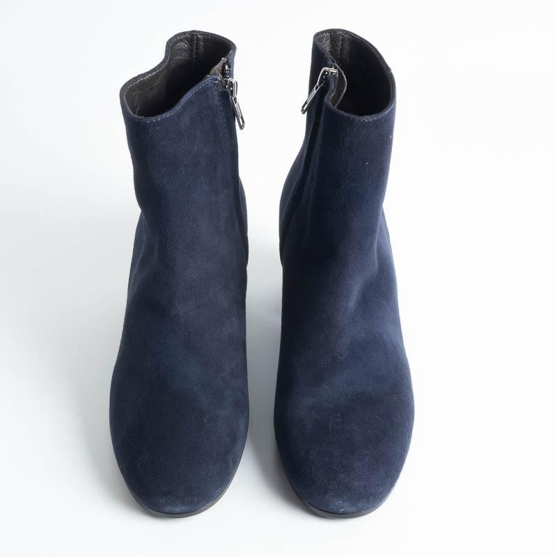 VIA ROMA 15 - 2309 - Ankle boot - Suede - Dark Blue Women's Shoes Via Roma 15
