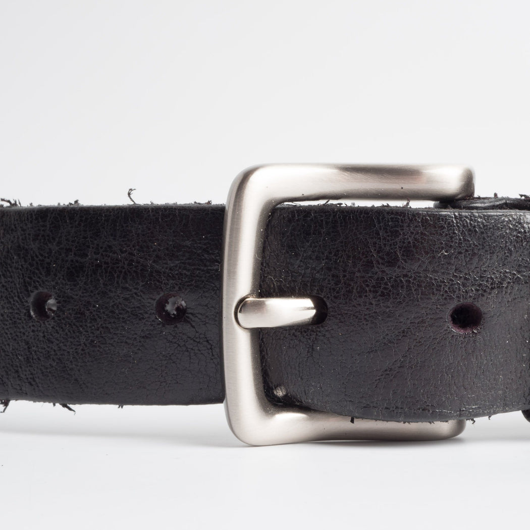 68 | 78 - SS 2019 - Belt with metal buckle - 95 cm. - Black Man Accessories 68 | 78