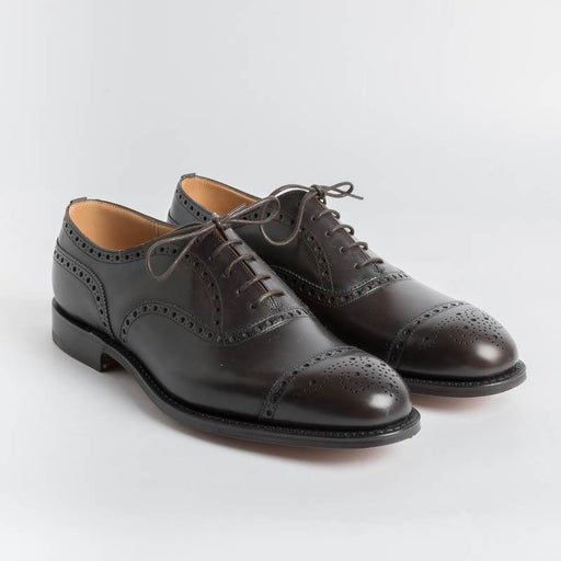CHURCH'S - Brogue - Superior Burnt Calf Men's Shoes Church's
