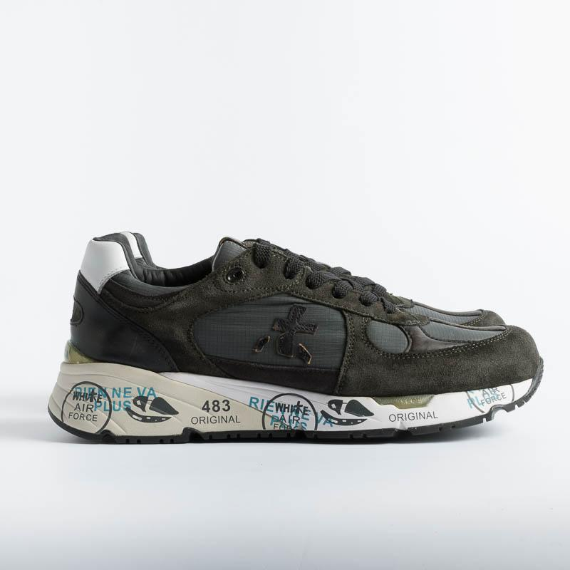 PREMIATA - Sneakers - MASE 4005 - Green Premiata Men's Shoes - Men's Collection