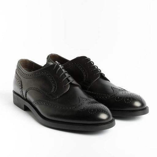 FRATELLI ROSSETTI - Oxford shoes - 46384 36601- Black Shoes Man FRATELLI ROSSETTI - Man