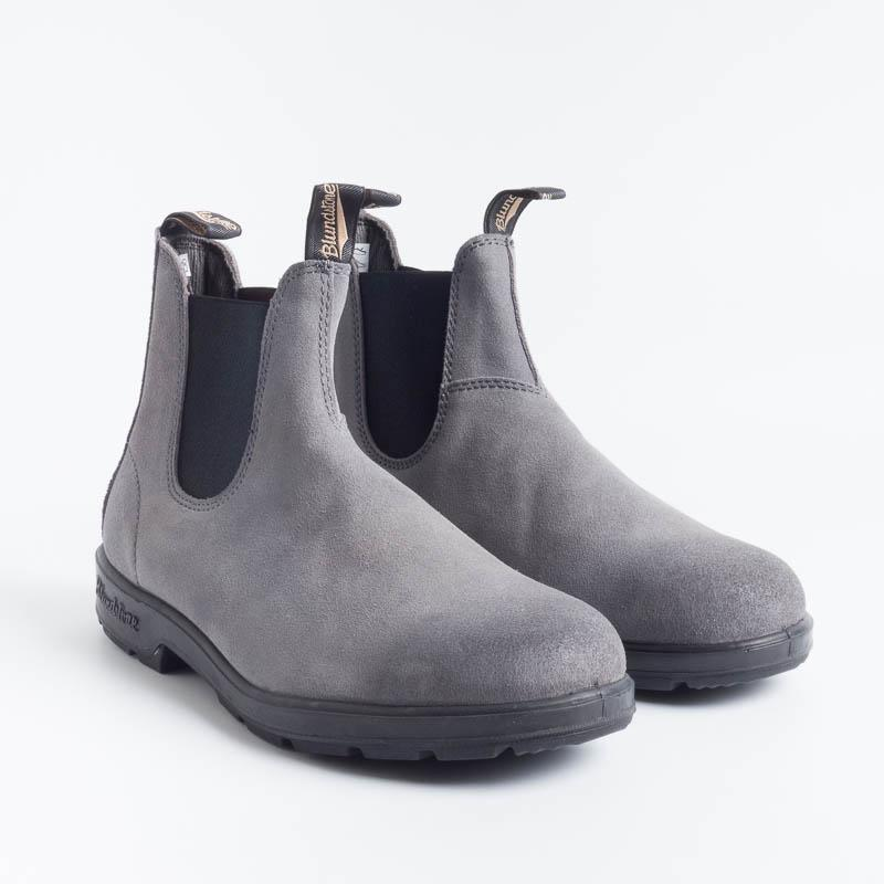 BLUNDSTONE - 1460 - CHARCOAL SUEDE RUB Blundstone Blundstone collection