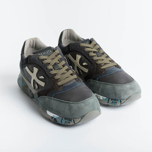 PREMIATA - Sneakers - ZAC ZAC 5018 - Green Men's Shoes Premiata - Men's Collection