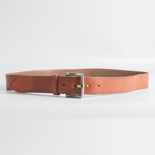 68 | 78 - SS 2019 - Belt with metal buckle - 95 cm. - Leather Accessories Man 68 | 78