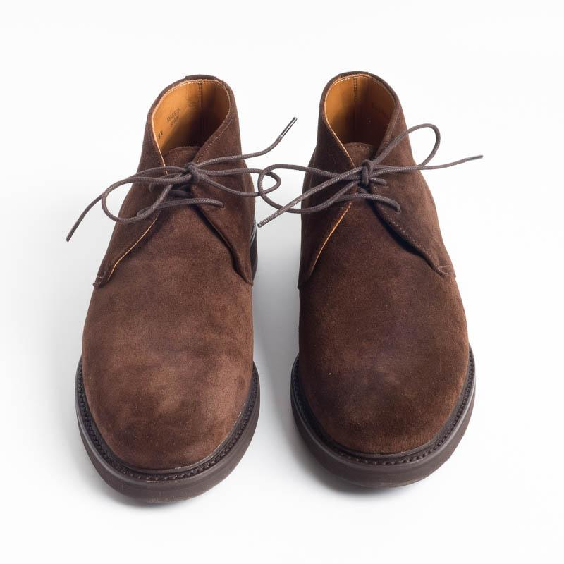BERWICK 1707 - Polish - 369 Repello Gum Oil - Brown Suede Men's Shoes Berwick 1707