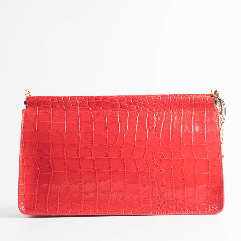 SACHET - mod 413 - Clutch bag with chain - various colors SACHET BAGS RED