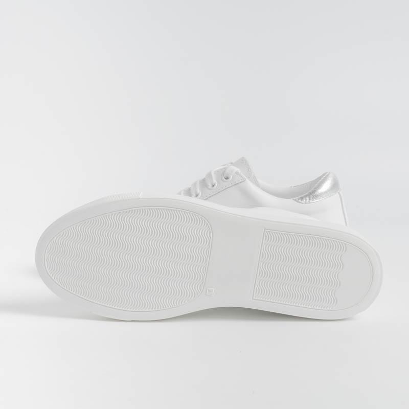 SACHET PRIVATE LABO - Sneakers - RAPALLO - RA02 - White / Silver Women's Shoes SACHET - Footwear