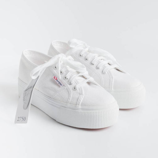 SUPERGA - Sneaker canvas - 2790ACOTW LINEA UP AND DOWN - Bianco Scarpe Donna SUPERGA