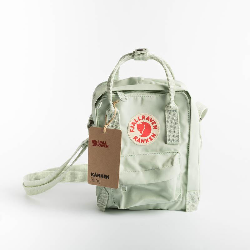 FJÄLLRÄVEN Kånken Sling - col. 23797 - Green water Fjallraven backpack