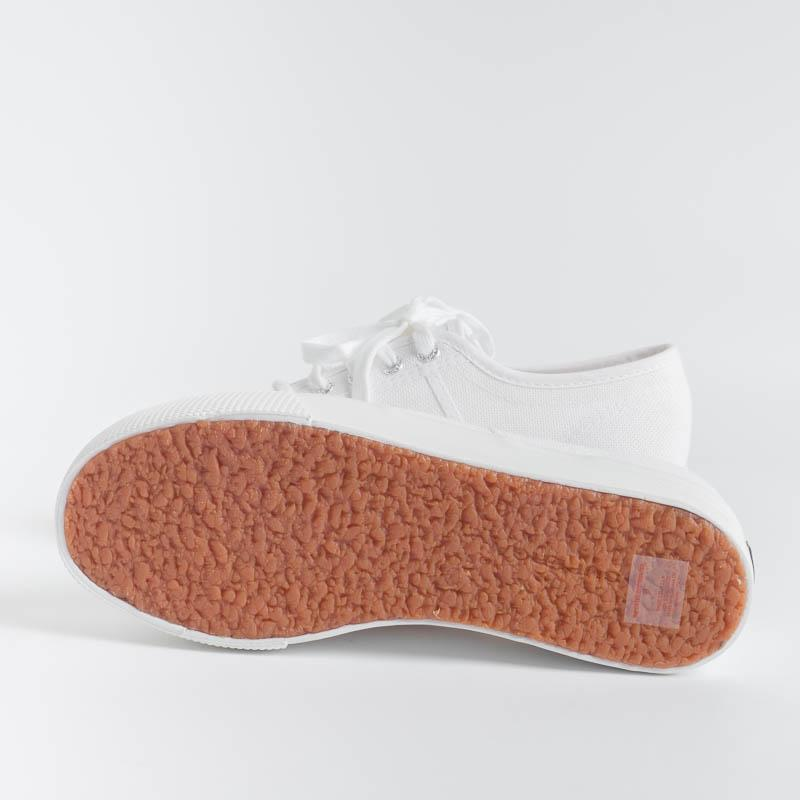 SUPERGA - Canvas sneaker - 2790ACOTW UP AND DOWN LINE - White Women's shoes SUPERGA