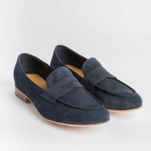 STURLINI - Moccasin AR-31003 - Velucalf Blue Night Shoes Woman STURLINI