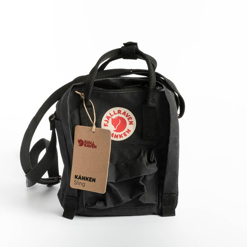 FJÄLLRÄVEN Kånken Sling 550 Black Backpack Fjallraven