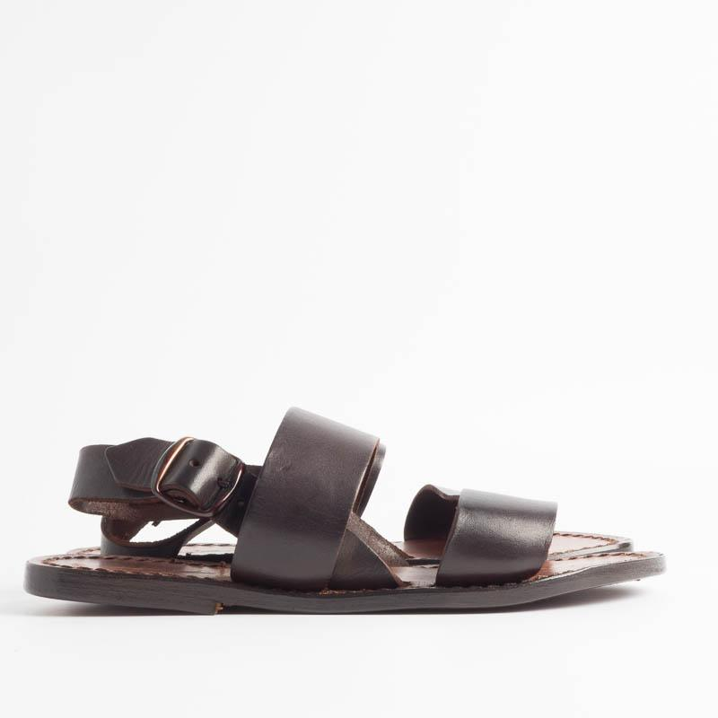 SACHET - Continuativo - Franciscan Sandal - Freetime - 500 X Tuf.- Dark brown Woman Shoes SACHET