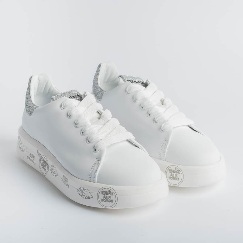 PREMIATA - Sneakers - BELLE 4903 - White Women's Shoes Premiata - Women's Collection
