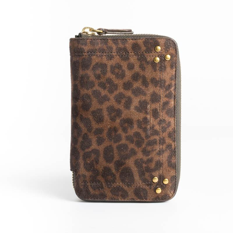 JEROME DREYFUSS - Wallet - Julien - Leo Naturel Women's Accessories Jerome Dreyfuss