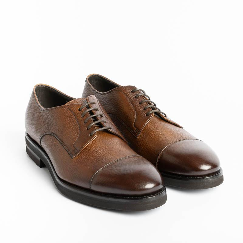 HENDERSON - Derby - 80213.B.0 - Deer Leather Shoes Man HENDERSON