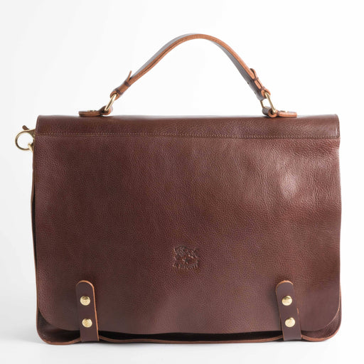 IL BISONTE - FW 2018/19 - D0301 P - Briefcase - Dark brown Accessories for Men Il Bisonte
