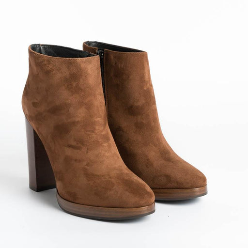 Cappelletto 1948 - Ankle boot Viki2 Elisa - Chestnut Suede Shoes Woman CAPPELLETTO 1948