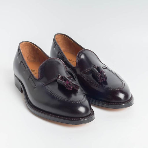 ALDEN - 563 - Tassel Loafer - Cordovan Burgundy - Call to buy Alden Men's Shoes