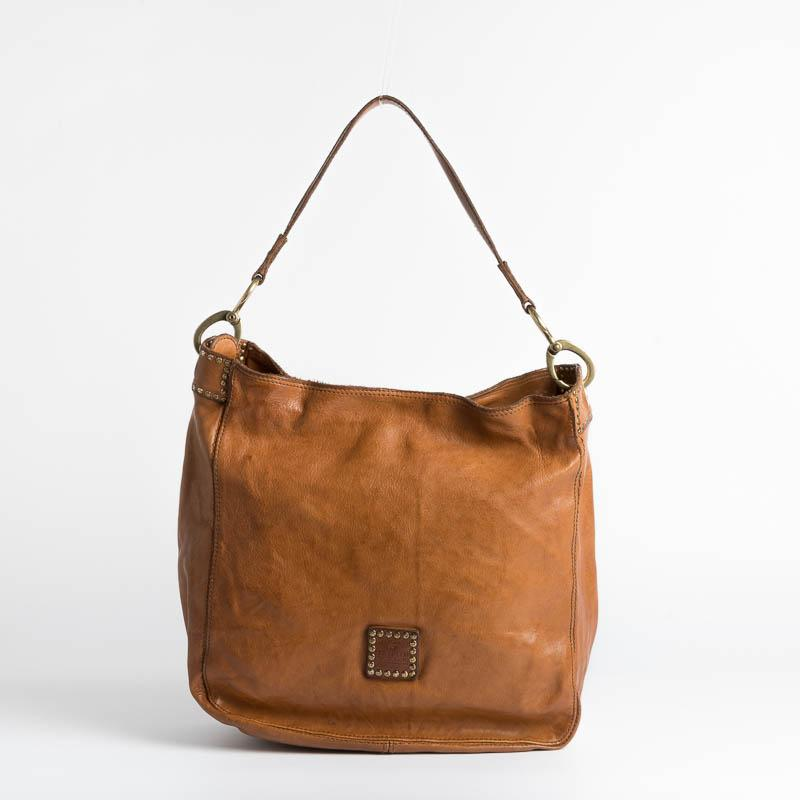 CAMPOMAGGI - Shoulder bag - C022610ND - Cognac Bags Campomaggi