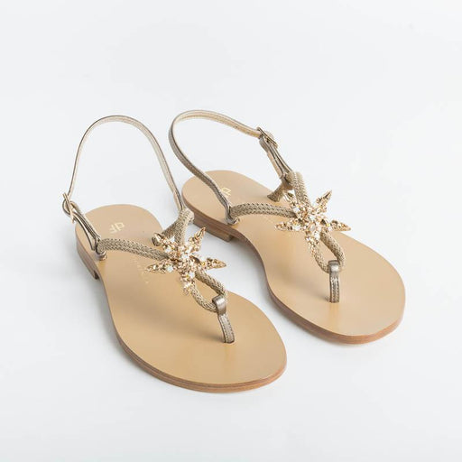 PAOLA FIORENZA - Jewel Sandal 09 - Biscuit Shoes Woman PAOLA FIORENZA