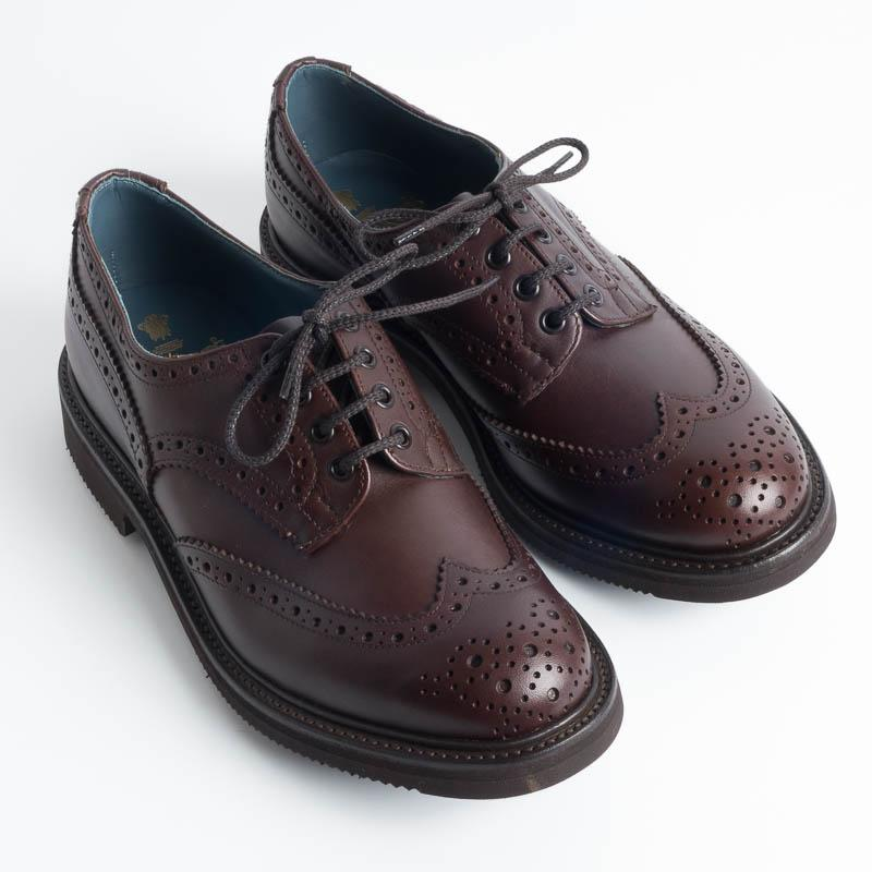 Tricker's Continuativo - Leather Derby - Bourton Naster - T.Moro Tricker's Man Shoes