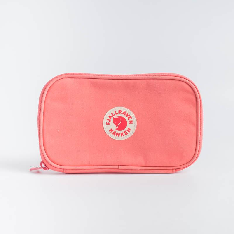 FJÄLLRÄVEN Kånken Travel Wallet - Various Colors Backpack Fjallraven 319 Peach Pink