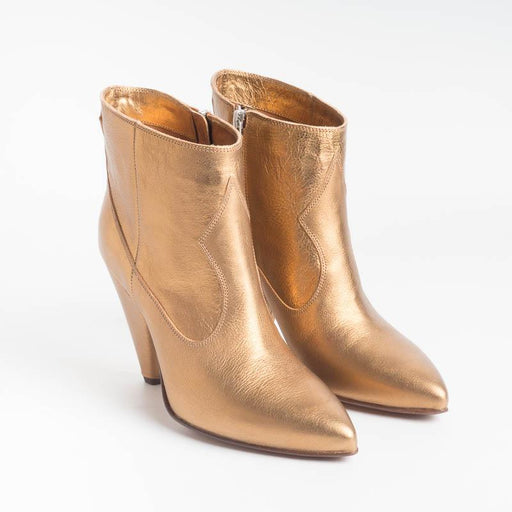 BUTTERO - Ankle boots - B8633 - Gold Women's Shoes BUTTERO
