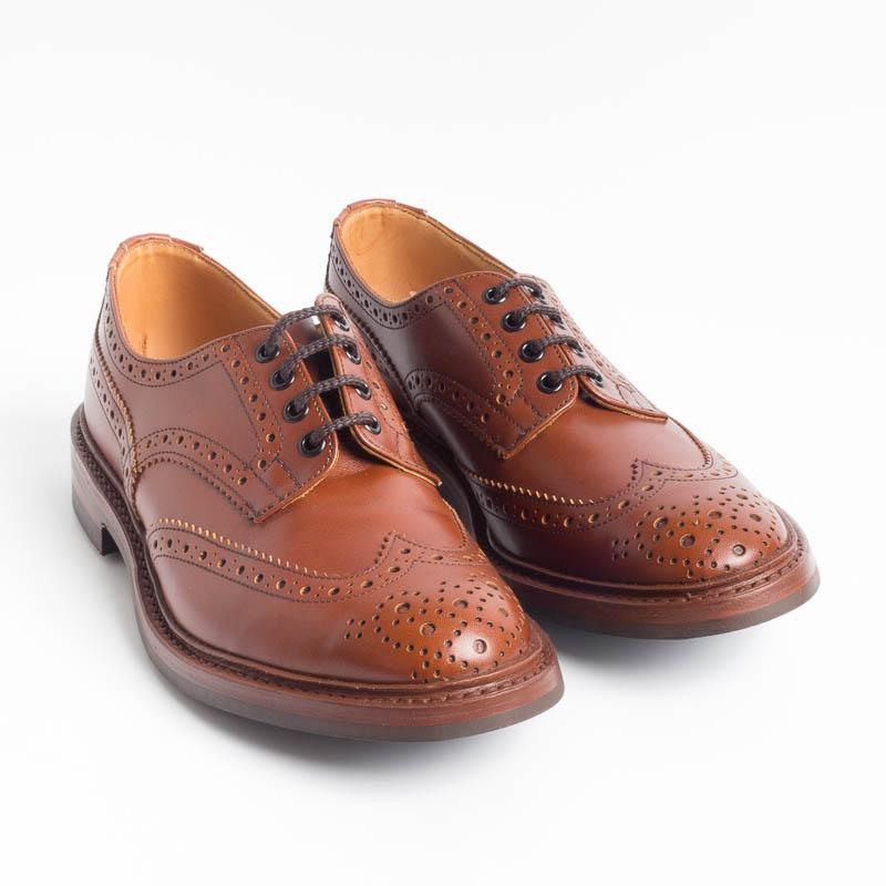 TRICKER'S - Derby - Bourton - Antique Brown Scarpe Uomo Tricker's