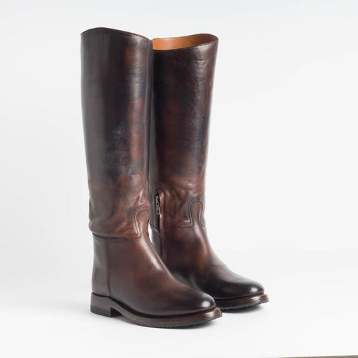 SILVANO SASSETTI - Boots - 4281 - Dark Brown Leather Women's Shoes SILVANO SASSETTI - Women's Collection