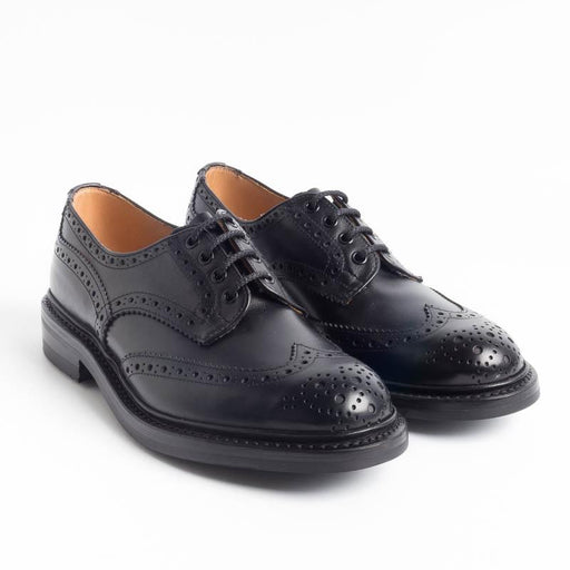 TRICKER'S - Derby - Bourton - Black Calf Scarpe Uomo Tricker's