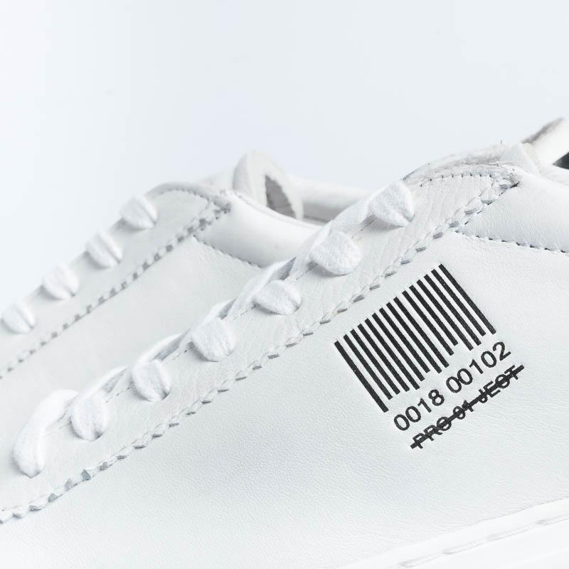 PRO 01 JECT - Sneakers - P1LM GG14 - White Black Men's Shoes PRO 01 JECT - Men's Collection
