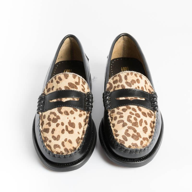 SEBAGO - DAN VAMP WILD Loafer 71111FNW - Leopard Women's Shoes SEBAGO - Women's collection