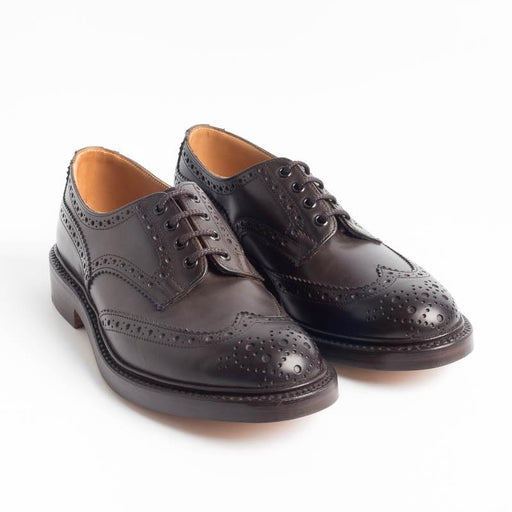 TRICKER'S - Derby - Bourton - Espresso Tricker's Men's Shoes