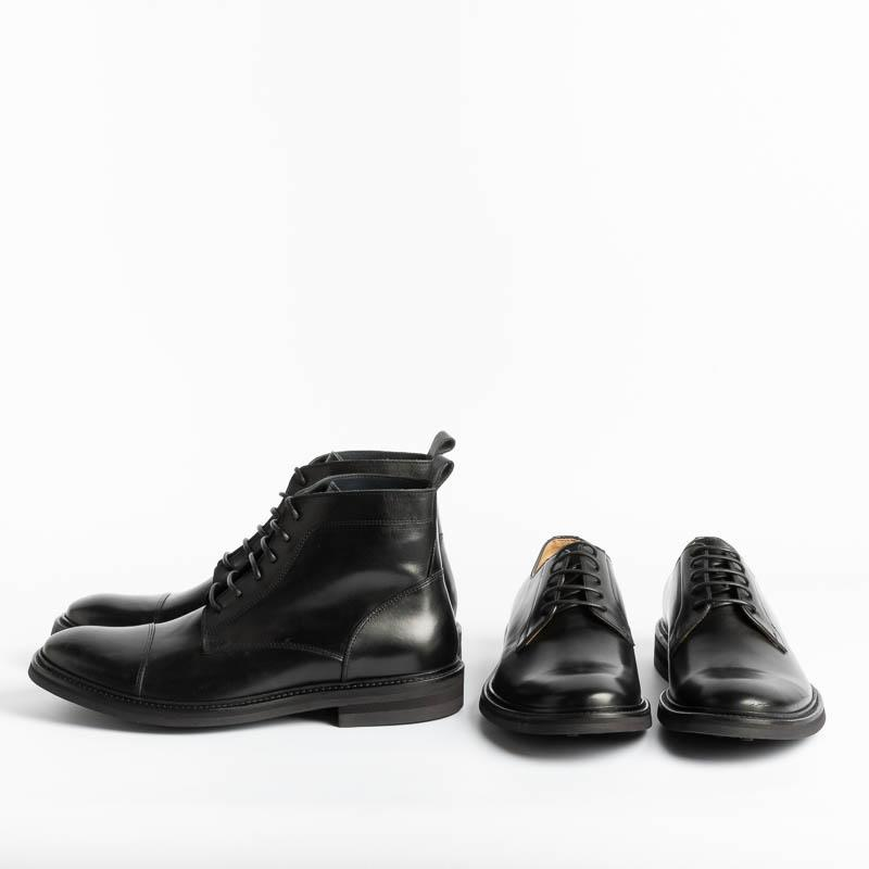 SEBOY'S - Derby - 3810 - Nevada Black Shoes Man SEBOY'S