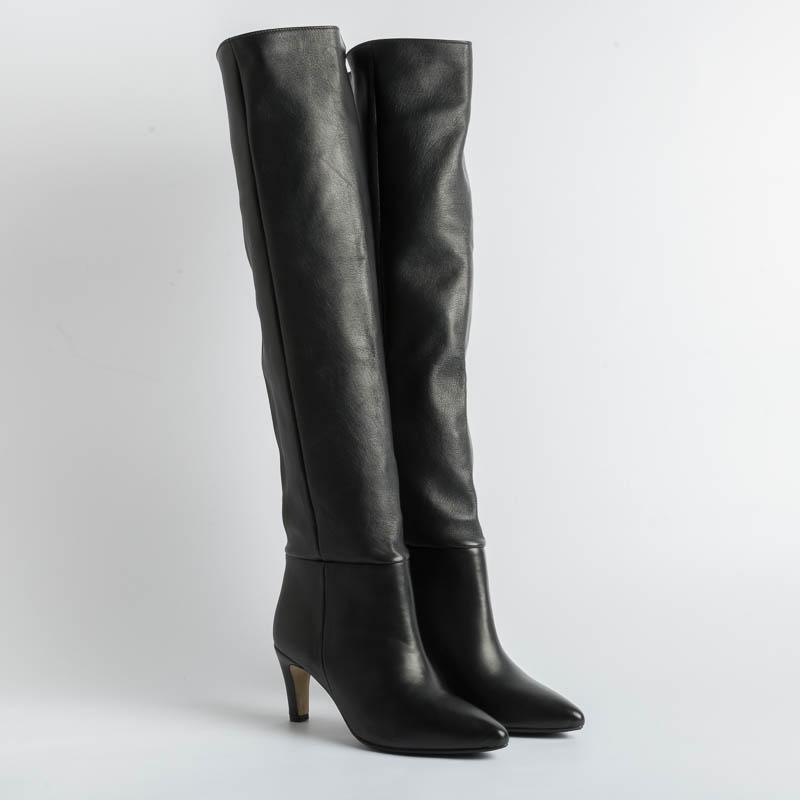 L 'ARIANNA - Boots ST1191 - Feather Black Women's Shoes L'Arianna