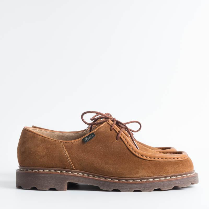 PARABOOT - LIMITED EDITION- 184737- MICHAEL/MARCHE NOIX- VEL WHISKY Scarpe Uomo Paraboot