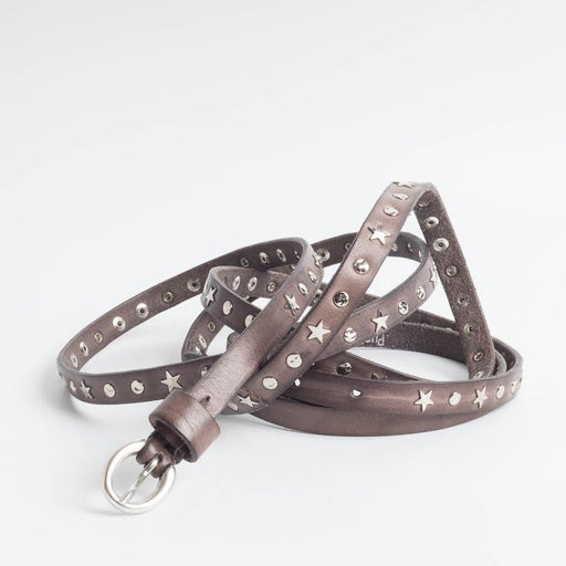 PUNTO VITA - Belt PV1247 - Mud Women's Accessories PUNTO VITA