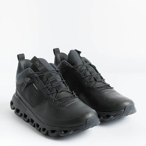 ON RUNNING - Cloud High Waterproof - Black Men's Shoes ON - Men's Collection
