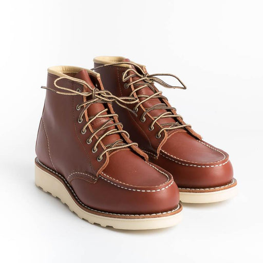 RED WING - 3369 Moc Toe - BORDEAUX Women's Shoes Red Wing Shoes