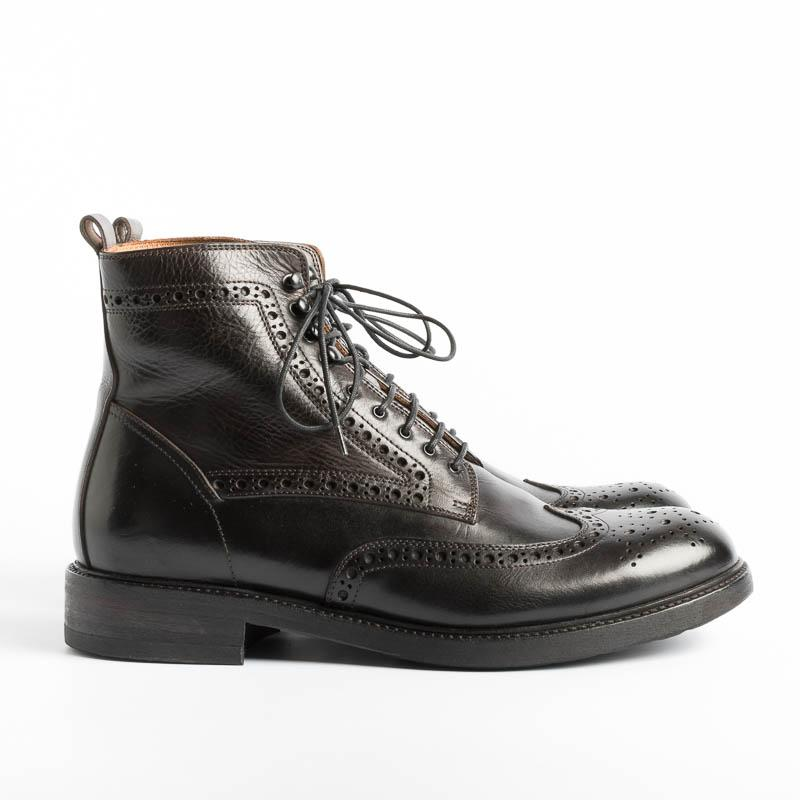 PANTANETTI - Ankle boots - 13929D - Commander Inde Men's Shoes PANTANETTI - Man
