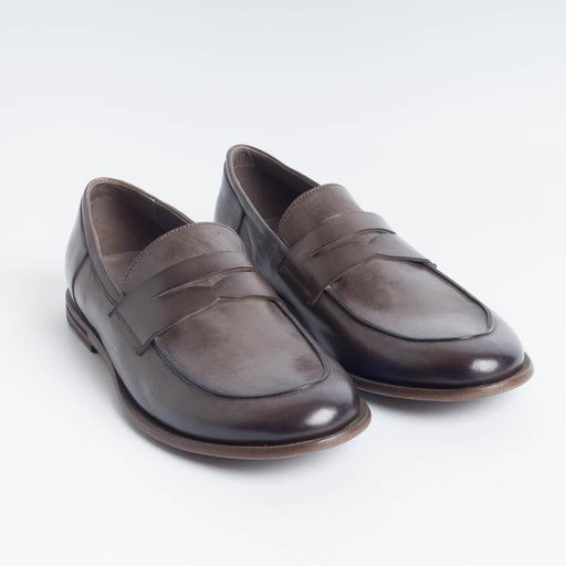 PANTANETTI - Loafer - 13432 - Lead Men's Shoes PANTANETTI - Man