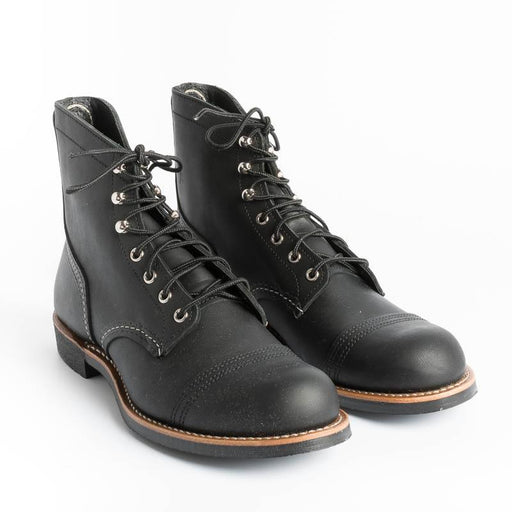 RED WING - Ankle boot 08084 - Iron Ranger - Black Shoes Man Red Wing Shoes