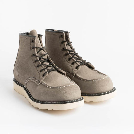 RED WING - Ankle boot Moc Toe 8863 - Gray Slate Shoes Man Red Wing Shoes