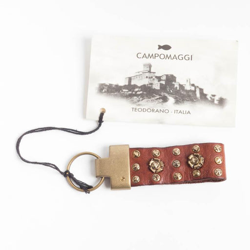 CAMPOMAGGI - Keyring - CO19250 - Cognac Accessories Women Campomaggi