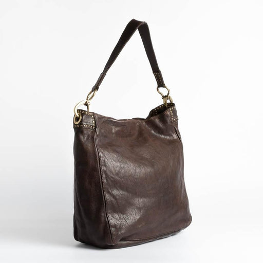CAMPOMAGGI - Shoulder bag - C022610ND - Dark Brown Bags Campomaggi