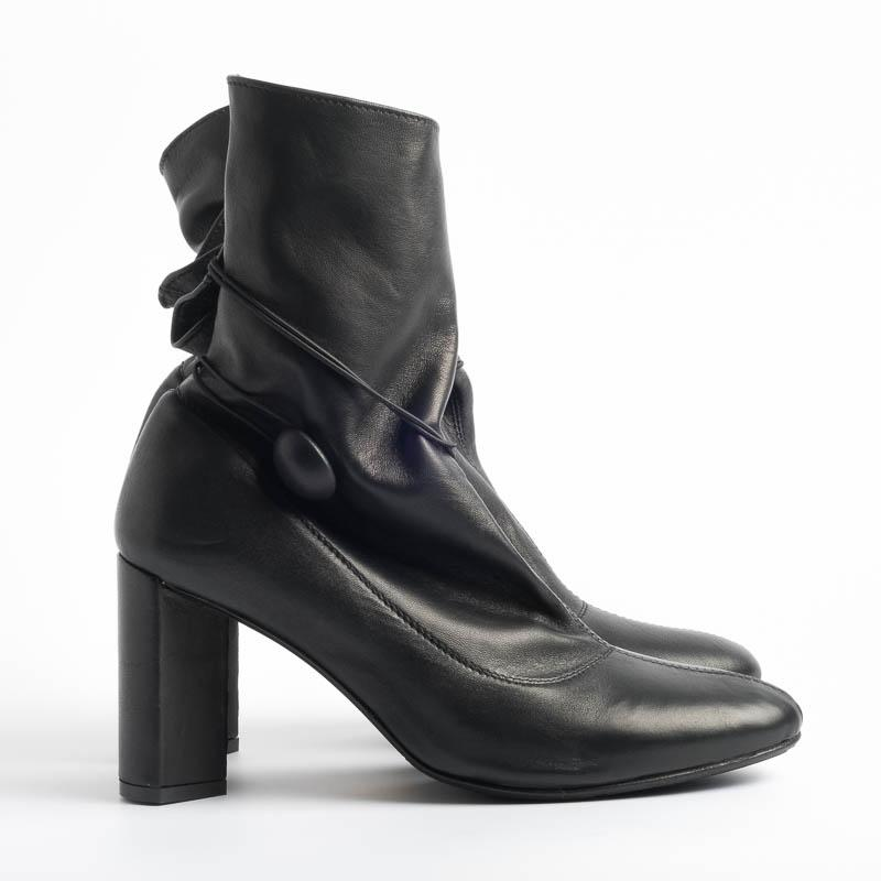 L'ARIANNA - FW 2019/20 - TR3013 - Feather- Black Women's Shoes L'Arianna