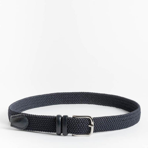CAPPELLETTOSHOP - Belt in stretch fabric - Blue Men's Accessories CAPPELLETTO 1948 - Men's Collection