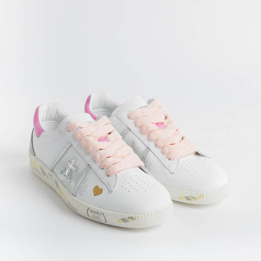 PREMIATA - Sneakers - ANDY 3903 - White Pink Women's Shoes Premiata - Women's Collection